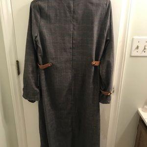 349a003310 Dresses - Sucrefas Gray Stripe A-Line Dress XXL
